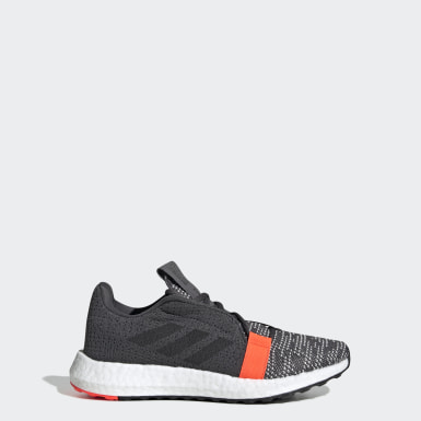 Kids Running Grey Senseboost GO Shoes