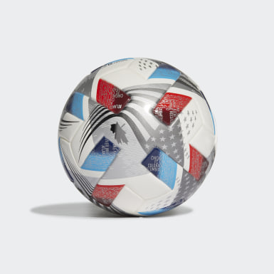Men's Soccer White MLS Mini Ball