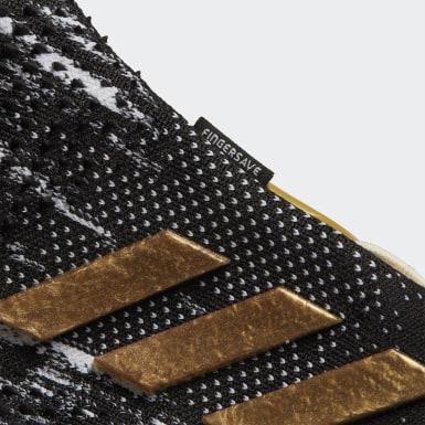 Voetbal zwart Predator 20 Pro Fingersave Handschoenen