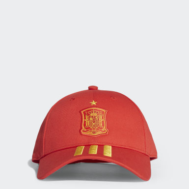 Football Red Spain 3-Stripes Cap