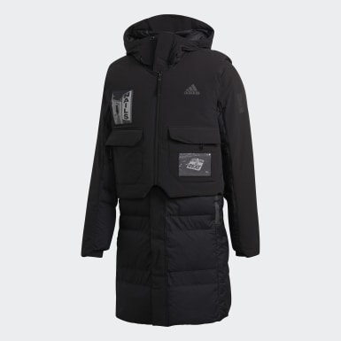 Men's Lifestyle Black MYSHELTER COLD.RDY Down Parka by Brock Fetch