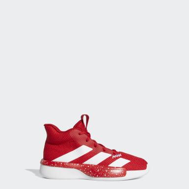 Børn Basketball Rød Pro Next sko