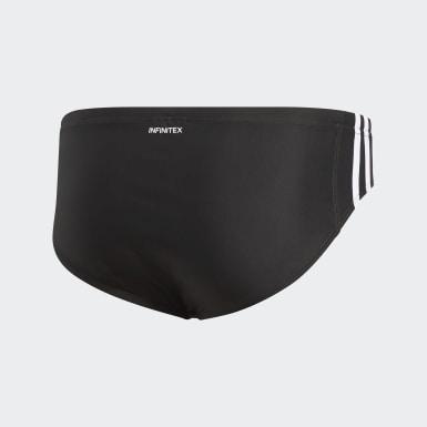 Szorty do pływania adidas 3 stripes Czerń
