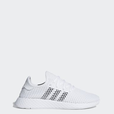 Women Originals White Deerupt Runner Shoes