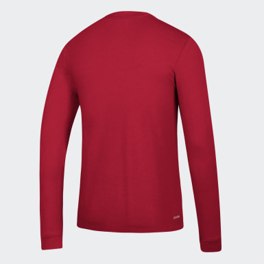 Men's Sport Inspired Red GTP L/S