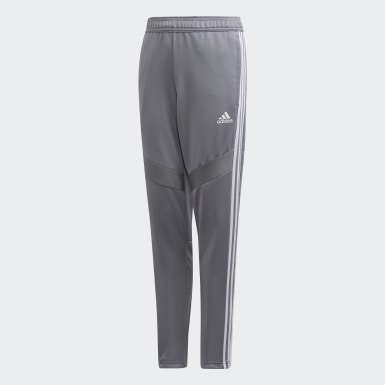 Youth Soccer Grey Tiro 19 Training Pants