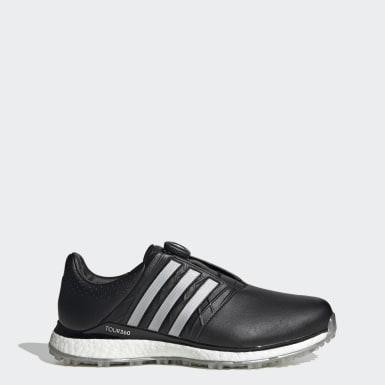 Men Golf Black TOUR360 XT-SL Boa 2.0 Golf Shoes