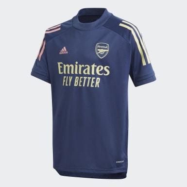 Børn Fodbold Blå Arsenal træningstrøje