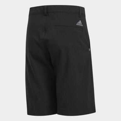 Short de golf Solid Noir Garçons Golf
