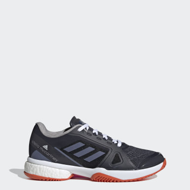 Women's Tennis Blue adidas by Stella McCartney Barricade Boost Shoes