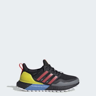 Youth Running Black Ultraboost All Terrain Shoes