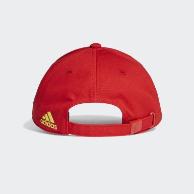 Cappellino Baseball Belgium Rosso Calcio