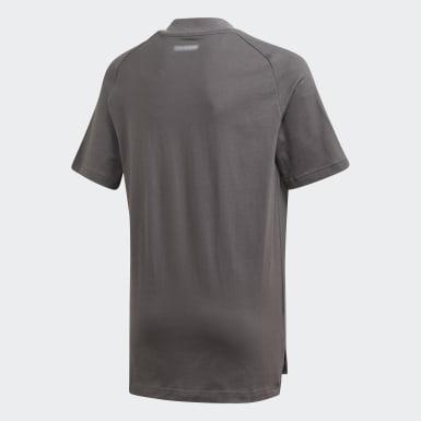 T-shirt Real Madrid Grigio Bambini Calcio