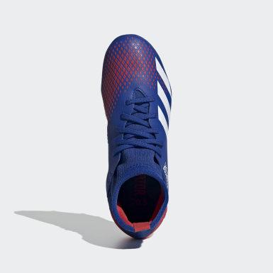 Calzado de fútbol Predator 20.3 Terreno Firme Azul Niño Fútbol