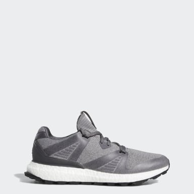 Men Golf Grey Crossknit 3.0 Shoes