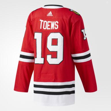 Hockey Red Blackhawks Toews Home Authentic Pro Jersey