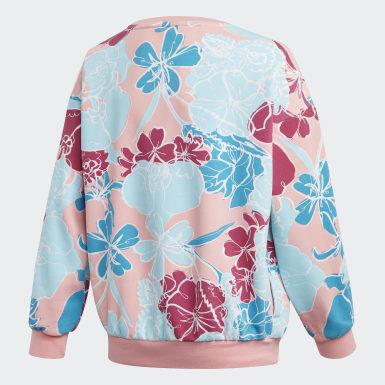Sweatshirt Rosa Raparigas Originals