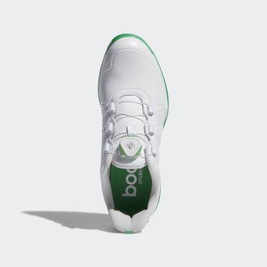 Women Golf White adipower Boost Boa Shoes