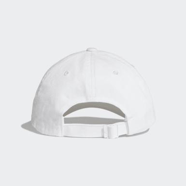 เทรนนิง สีขาว หมวกแก๊ป adidas Athletics Pack Dad