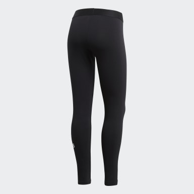 Frauen Athletics Must Haves Badge of Sport Tight Schwarz