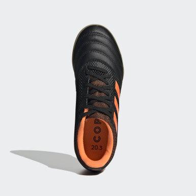 Children Soccer Black Copa 20.3 Sala Indoor Shoes