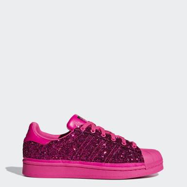 Chaussures Superstar rose + marron | adidas France