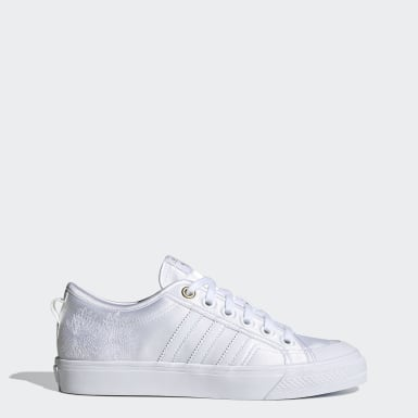 Women Originals White Nizza Shoes