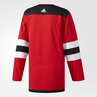 Men's Hockey Red Devils Home Authentic Pro Jersey