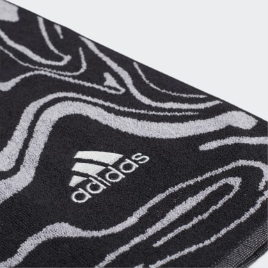 Swim Black Glam-On Cotton Towel