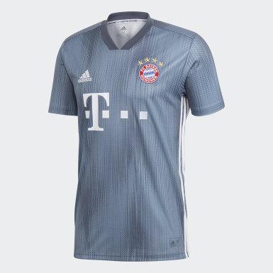 Men Football Blue FC Bayern Third Jersey