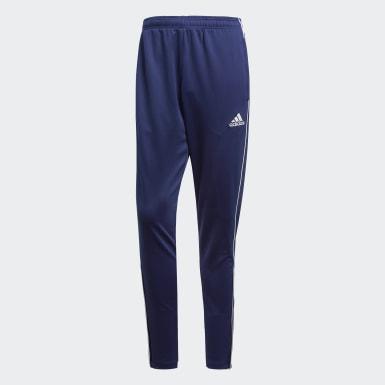 Muži Trénink modrá Kalhoty Core 18 Training