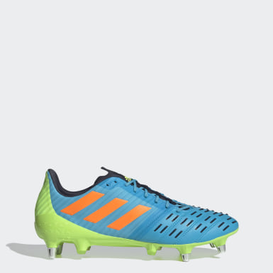 Chaussure Predator Malice Control Terrain gras Turquoise Rugby
