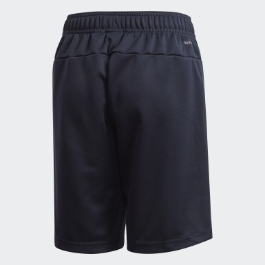 Boys Lifestyle Blue Linear Shorts