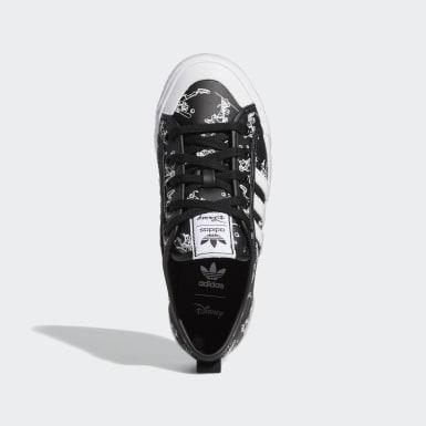 Genç Originals Siyah Nizza x Disney Sport Goofy Ayakkabı