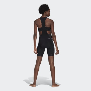 The Padded Cycling Bib Shorts Czerń
