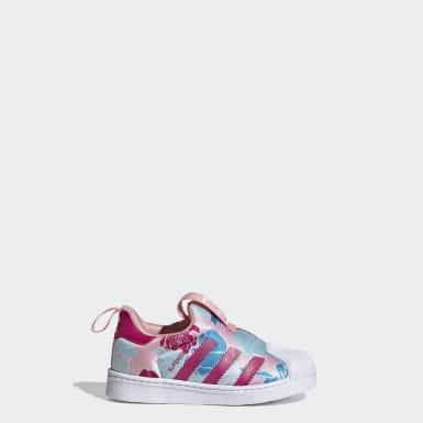 Sapatos Superstar 360 Rosa Criança Originals