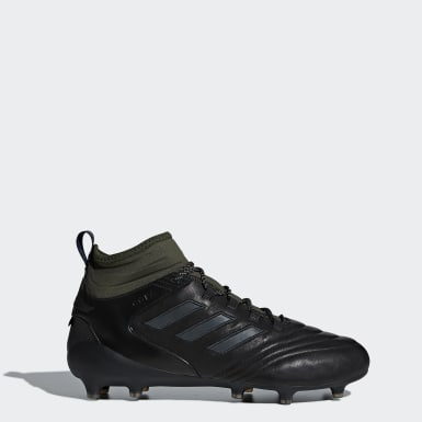 Men Football Black Copa Mid Firm Ground GTX Boots