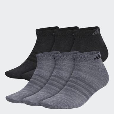 Men Training Grey Superlite Low-Cut Socks 6 Pairs