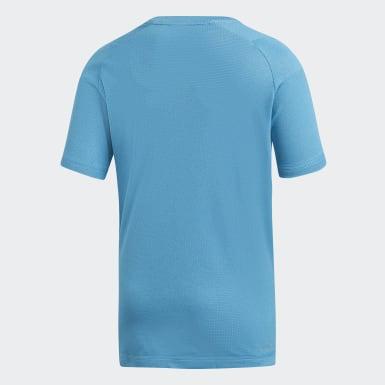 Genç Training Turkuaz Climachill Tişört