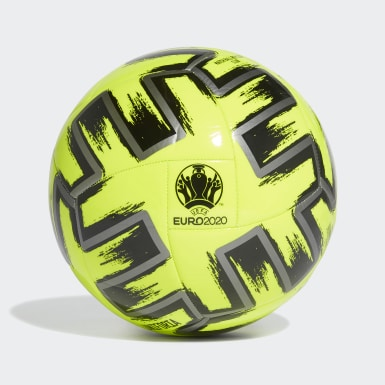 Men Football Yellow Uniforia Club Ball