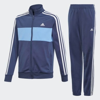 Boys Training Blue Tiberio Track Suit