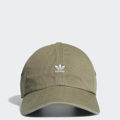 Women Originals Green Mini Logo Relaxed Cap