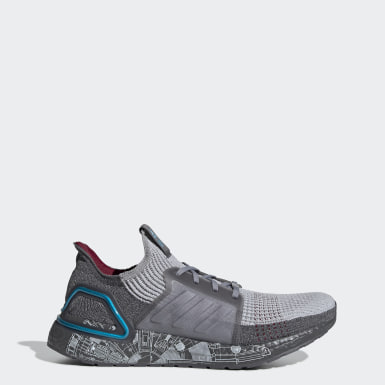Running Grey Ultraboost 19 Star Wars Shoes