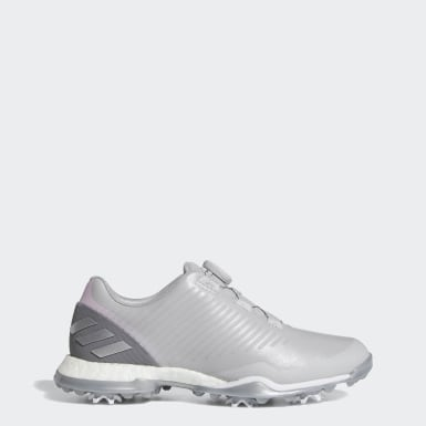 Women Golf Grey Adipower 4orged Boa Shoes