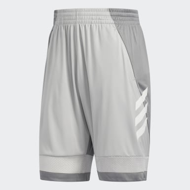 Men Basketball Grey Pro Bounce Shorts