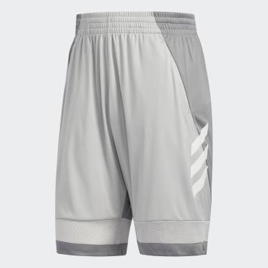 Short Pro Bounce Gris Hommes Basketball