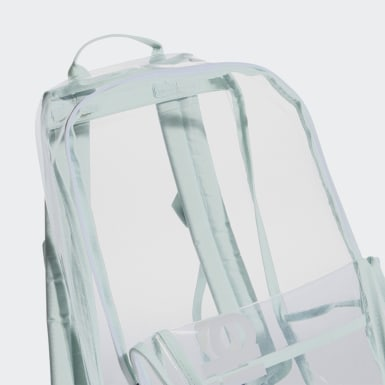 Essentials Green Clear Linear Backpack