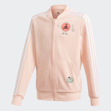 Girls Training Pink Cleofus Track Jacket