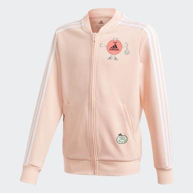 розовый Куртка-бомбер Cleofus