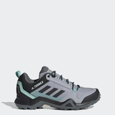 Sapatos de Caminhada AX3 GORE-TEX TERREX Cinzento Mulher TERREX